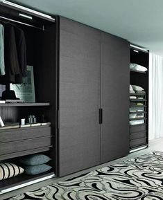 Best Modern Wardrobe Furniture Design For Awesome Home Inspiration – Home & Apartment Guide Wardrobe Room, Wardrobe Design Bedroom, Wooden Wardrobe, Bedroom Cupboard Designs, Wardrobe Furniture, Bedroom Cupboards, Bedroom Furniture Design, Bedroom Doors, Furniture Layout
