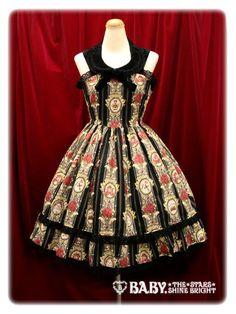 Alice & the Pirates / Jumper Skirt / Queen's Coach Print JSK II