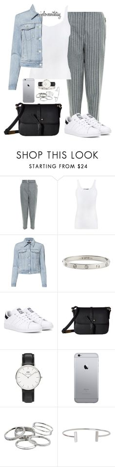 """""""75❤"""" by inlovewithtay ❤ liked on Polyvore featuring Vince, J Brand, Cartier, adidas Originals, Foley + Corinna, Daniel Wellington, Kendra Scott, Humble Chic, adidas and grey"""