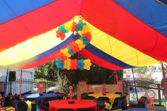 """Photo 1 of 15: Carnival/Circus / Birthday """"Tori's Carnival Extravaganza"""" 
