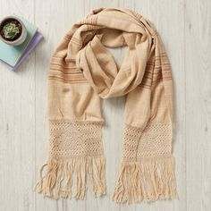 · Ethically sourced from Oaxaca, Mexico· Handmade on a foot loom· 170 x 35 cm (plus fringes) · Organic Dyes - banana skin & bark· Other uses: blanket Short Scarves, Small Scarf, Blanket Scarf, Fringes, Unique Fashion, Fashion Accessories, Banana, Organic, Elegant