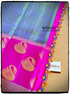Wedding Saree Kuchu Saree Kuchu New Designs, Saree Tassels Designs, Blouse Designs, Trendy Fashion, Fashion Outfits, Fashion Tips, Fashion Design, Fashion Trends, Ethnic Sarees