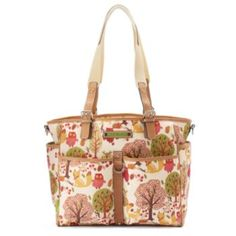 Lily Bloom Maya Triple Entry Computer Tote