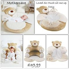 Suitable from birth Use a soft supportive playnest of young babies Converts to a supportive prop for older babies who are ready to sit up