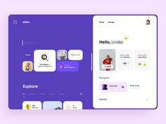 Artificial Intelligence Browser by Cuberto Dashboard Design, Ui Ux Design, Interface Design, User Interface, Dashboard Ui, Design Layout, Graphic Design, Web Layout, Parallax Effect