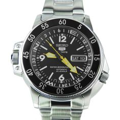 Chronograph-Divers.com - SKZ211K1 Seiko 5 Automatic WR200 Stainless Steel Map Meter Mens Watch, $205.00 (http://www.chronograph-divers.com/skz211k1/)