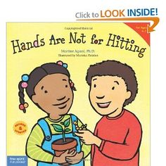 A book to help kiddos work through things without physical altercations