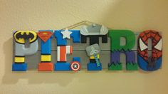 5 la plataforma de letras inspiradas de superhéroes muestra