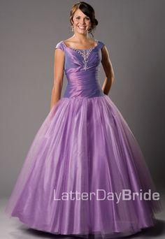 Modest prom dress for Steph