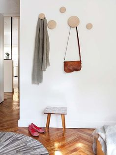 Ideas and inspiration Entryway Coat Hooks, Ideas Hogar, Boho Room, Wall Hooks, My Room, Decoration, Home Accessories, Home Furniture, Sweet Home
