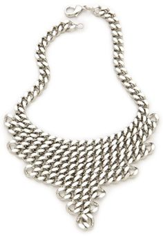 Fallon jewelry Classique Bib Necklace on shopstyle.com