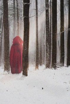 little red riding hood -- if you know the original photographer, please share! Fantasy World, Dark Fantasy, Grimm Tales, Big Bad Wolf, Lunar Chronicles, Red Riding Hood, Little Red, Werewolf, Dark Art
