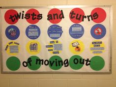 Twists & Turns of Moving Out Bulletin Board