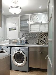 Laundry Room by Sarah Richardson  Contemporary