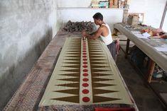 Block Printing in Bagru, India, Block Shop Textiles