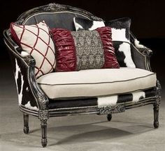 nice awesome Rodeo chic settee, Luxury fine home furnishings and high quality furnitu... by http://www.top-homedecor.space/sofas-and-loveseats/awesome-rodeo-chic-settee-luxury-fine-home-furnishings-and-high-quality-furnitu/