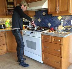 Josh Ramsay cooking in socks. I like pics of domestic dudes! Marianas Trench Band, Josh Ramsay, Bands, Pretty, Man Crush, Pomegranate, Pecan, Music, Singers