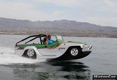 Американский автомобиль-амфибия с двигателем Honda