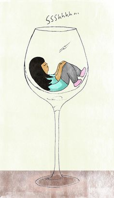 wine glass cosy | Flickr - Photo Sharing!
