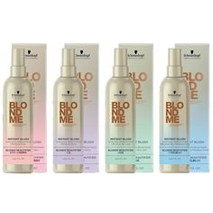 Schwarzkopf New BlondMe Instant Blush collection allows you to add new pastel colors without the commitment of a dye.