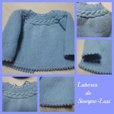 This Pin was discovered by Pam Baby Booties Knitting Pattern, Baby Sweater Patterns, Knit Baby Sweaters, Baby Patterns, Knitting Patterns, Crochet Patterns, Knitting For Kids, Knitting Projects, Baby Knitting