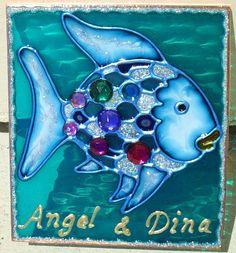 Stained Gl Under The Sea Rainbow Fish Night Light Plug In Wall Kids Ocean And Nursery Decor Art Baby Nightlight Hallway Lighting