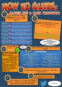 Guide on how to answer the Six Mark Questions for Edexcel GCSE PE