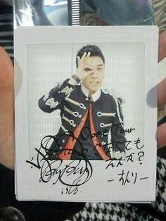 Big Bang signed photocards - Seungri