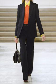 Jil Sander. Black suit.