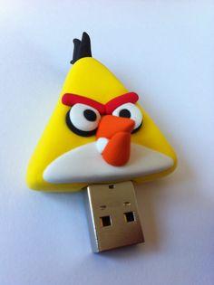 USB angry birds - Jumping Clay Gijon