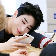 This is whenever I see Seungwoo smiling