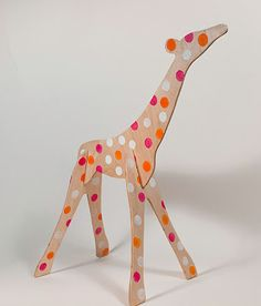 What is it about slotted wooden animals that makes me want to get out the jigsaw?
