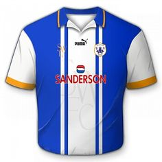 Sheffield Wed home shirt for 1995-97.