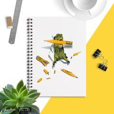 T-Rex/Wrecks still life with Pencils on Threadless T Rex Shirt, Dinosaur Illustration, Boring Day, Dinosaur Shirt, Kids Playing, Still Life, How To Find Out, Pencil, Hand Painted