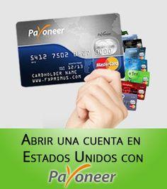 Como tener una cuenta bancaria en USA con Payoneer