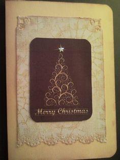tarjeta navideña.