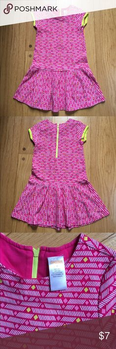 Gymboree girls dress size 7 Gymboree girls dress size 7. Cute summer dress with zip up back in good condition!! 💜 Gymboree Dresses