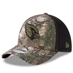 da91b9adbb7 Arizona Cardinals New Era Neo 39THIRTY Flex Hat - Realtree Camo Black