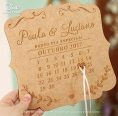 Porta Alianças Casamento Madeira Data - CHIC no Último
