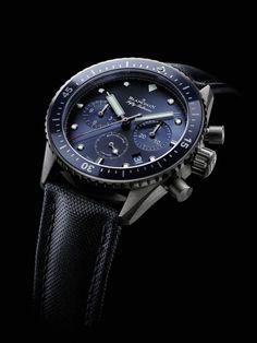 Fifty Fathoms Bathyscaphe de Blancpain. // Cuatro grandes clásicos de la relojería sumergible.