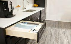Blum Kitchen Trash Cabinet Glides