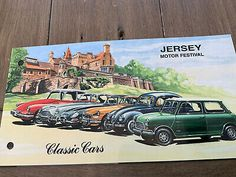 jersey stamps, Cars, Thermatics.  | eBay German Stamps, Commemorative Stamps, Set Cover, To Collect, Car Set, Mauritius, Popular Culture, Vintage Cars, Rock And Roll