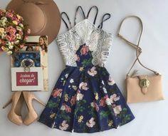 Vestido Spring Azul - Estação Store