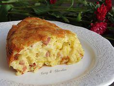 Pastel salado de queso viejo, puerro y bacon – Salty cake with cheese, leek and bacon Queso Cheese, Lasagna, Ethnic Recipes, Food, Essen, Meals, Yemek, Lasagne, Eten