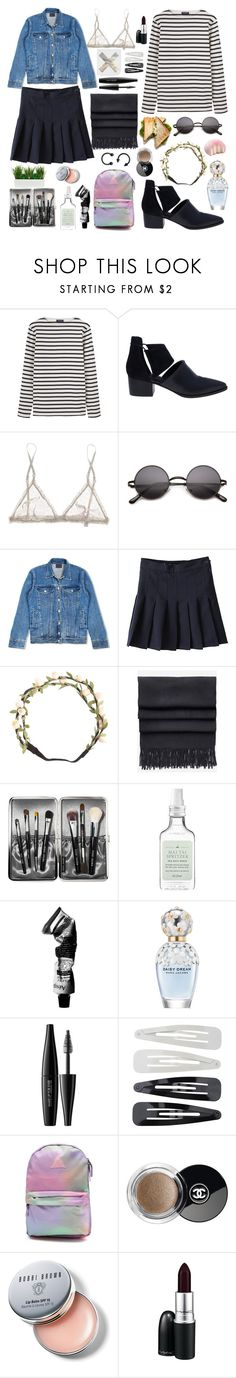 """hello, my name is Awkward"" by justadream133 ❤ liked on Polyvore featuring Saint James, Alexander Wang, STELLA McCARTNEY, Levi's, Charlotte Russe, Acne Studios, Bobbi Brown Cosmetics, Drybar, Aesop and Marc Jacobs"