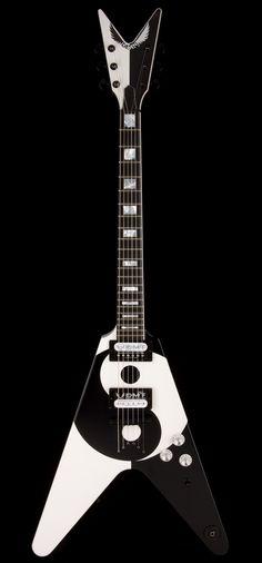 DEAN USA Michael Schenker Yin Yang Limited Hand Signed (#9) | Guitar Center