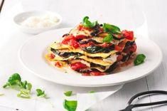 Lasagne s lilkem a čerstvými rajčaty Quiche, Menu, Cooking, Breakfast, Ethnic Recipes, Food, Lasagna, Menu Board Design, Kitchen