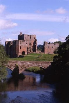 Brougham Castle, Penrith, Cumbria, England, founded in the 13th century by Robert de Vieuxpont
