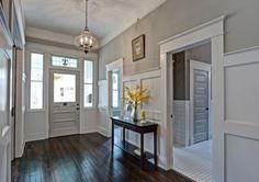 Wall color is Sherwin Williams Mindful Gray