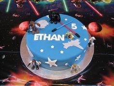 Awesome Star Wars birthday cake
